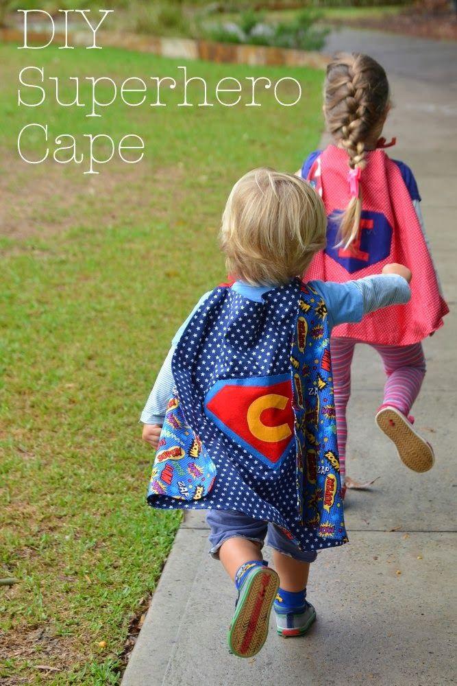 DIY Toddler Cape Pattern  DIY Superhero Cape