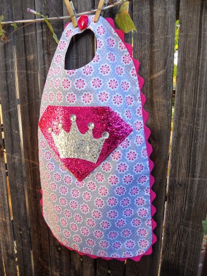 DIY Toddler Cape Pattern  Just Another Hang Up Little Girl Princess Superhero