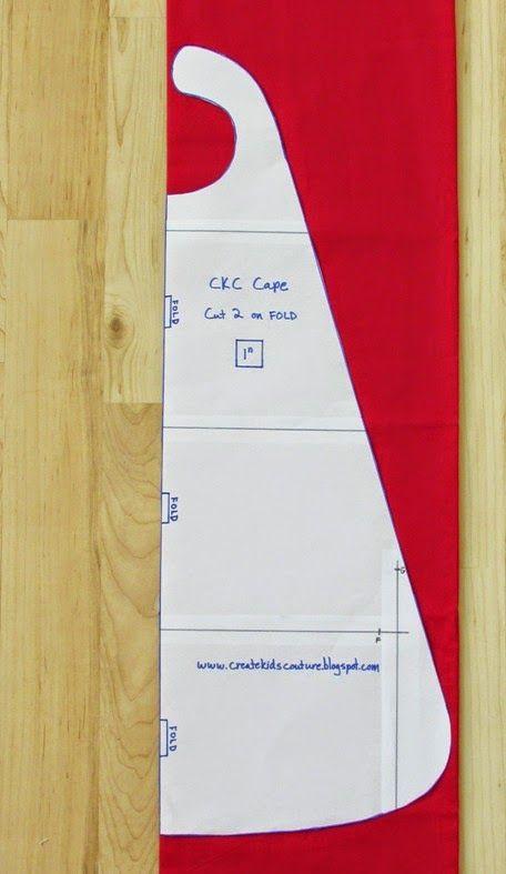 DIY Toddler Cape Pattern  Free Super Cape Pattern