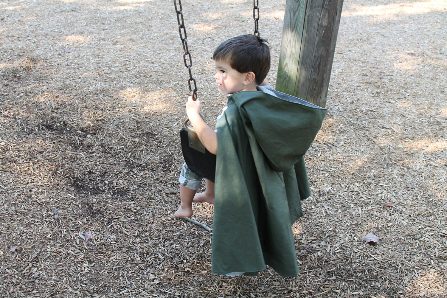 DIY Toddler Cape Pattern  Reversible Hooded Kid s Cape Sewing Pattern Toddler