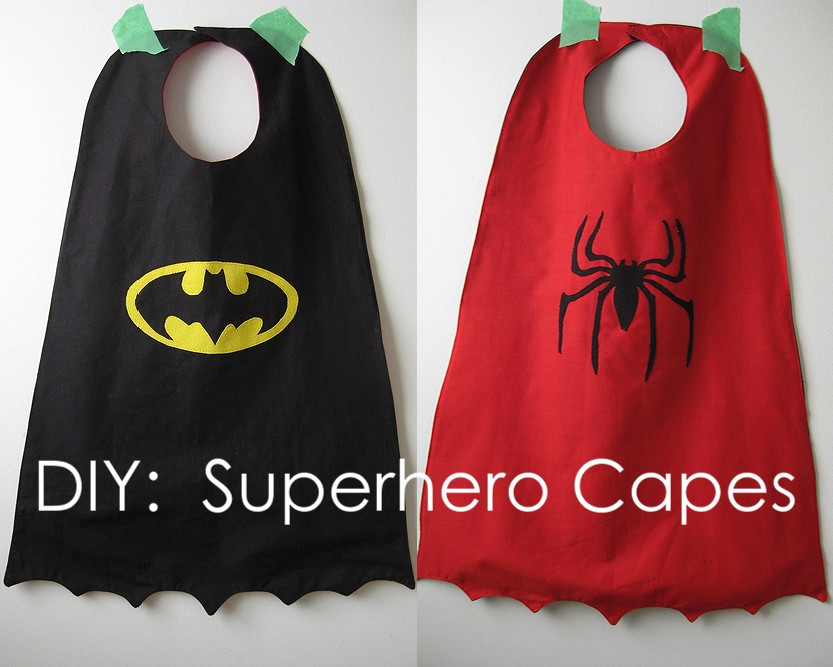 DIY Toddler Cape Pattern  My Handmade Home Tutorial DIY Superhero Capes