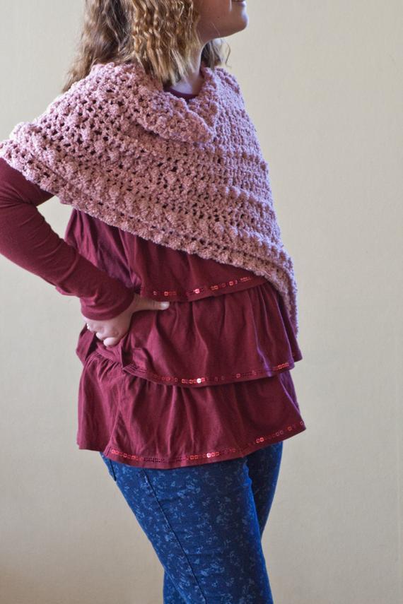 DIY Toddler Cape Pattern  Items similar to Crochet Pattern Girls Poncho Pattern