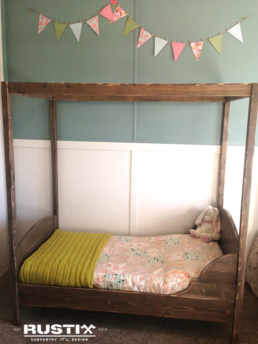 DIY Toddler House Bed  Ana White