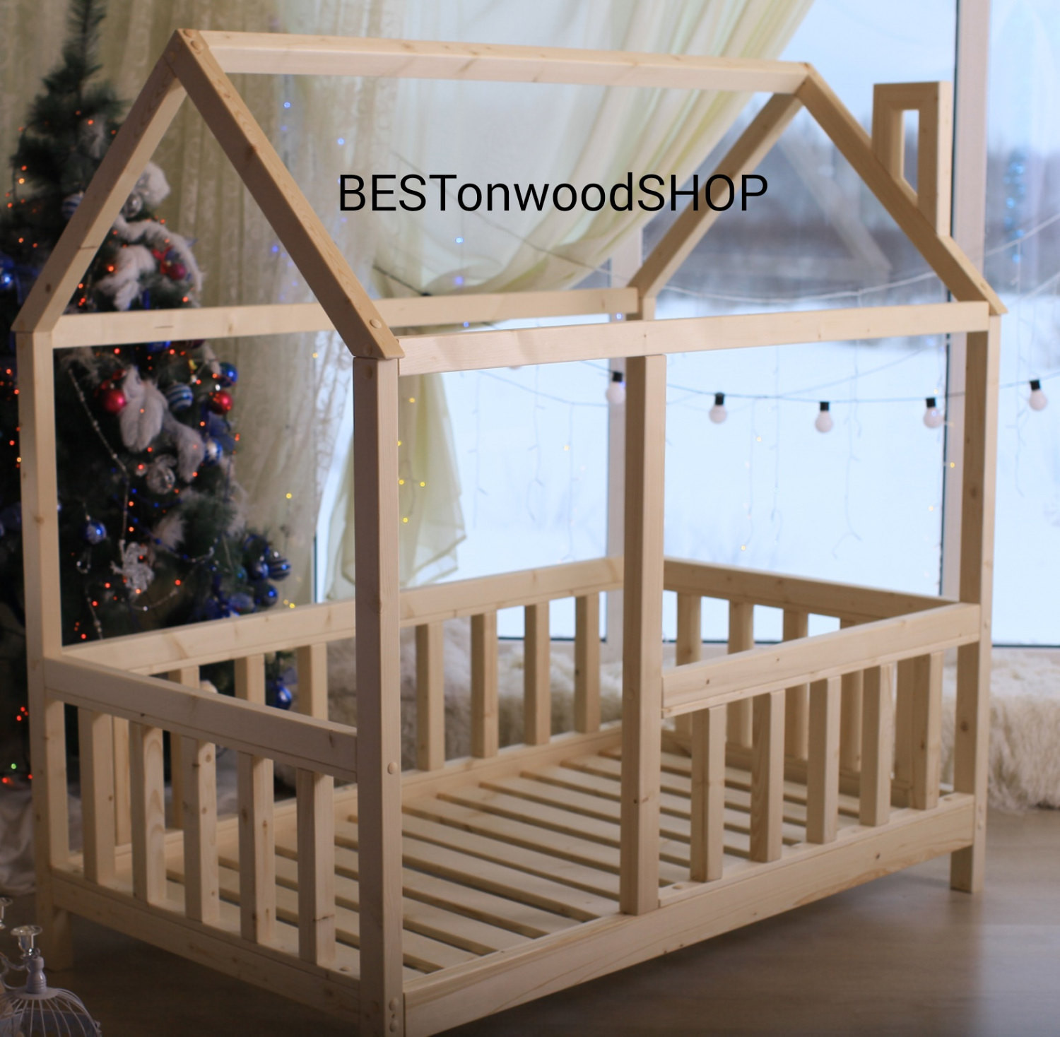 DIY Toddler House Bed  cm house bed tent bed wooden house wood