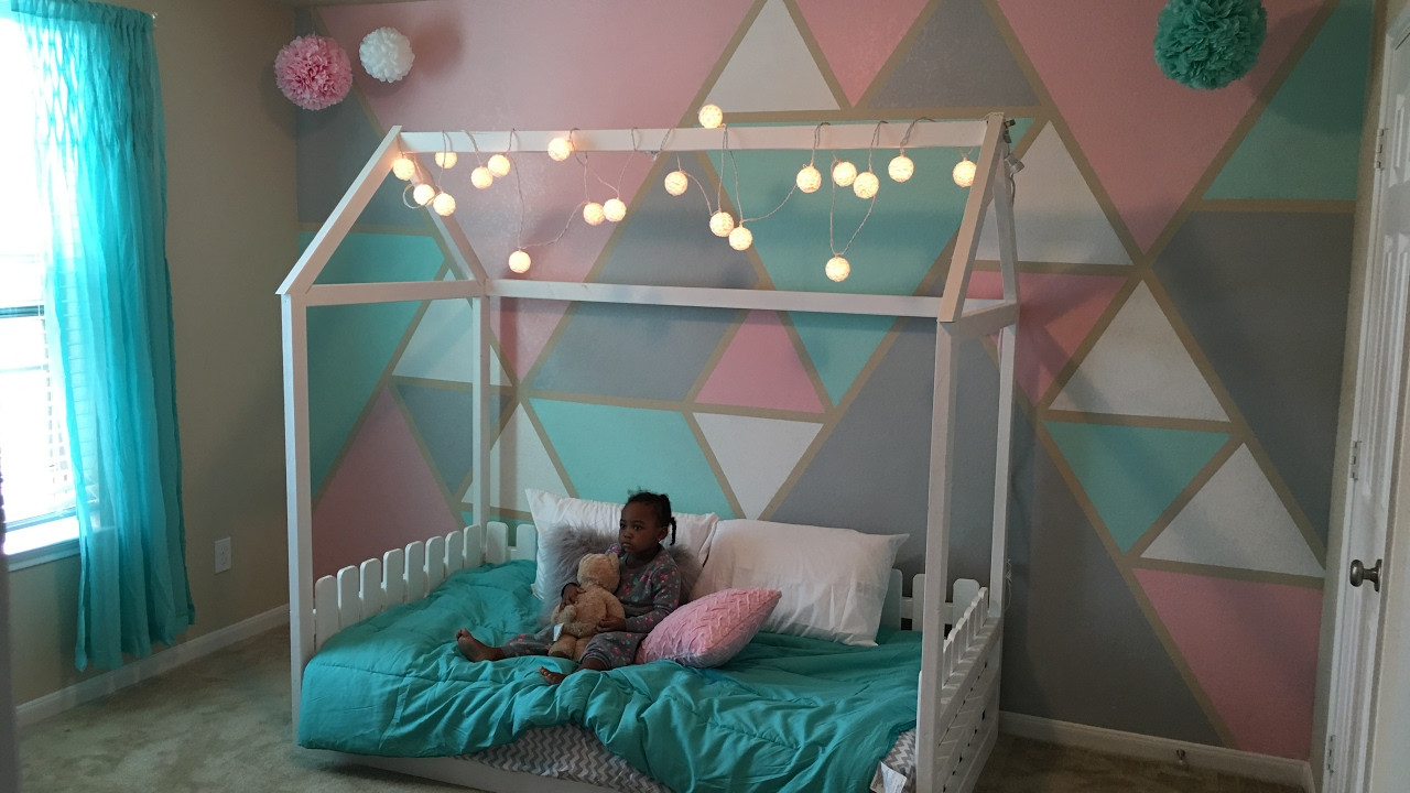 DIY Toddler House Bed  DiY Twin size toddler house bed