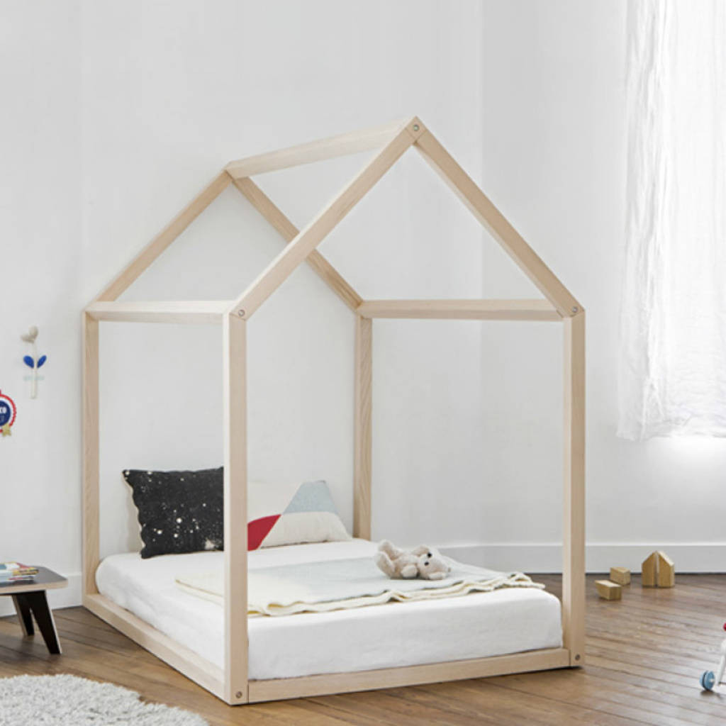 DIY Toddler House Bed  toddler house bed by grattify