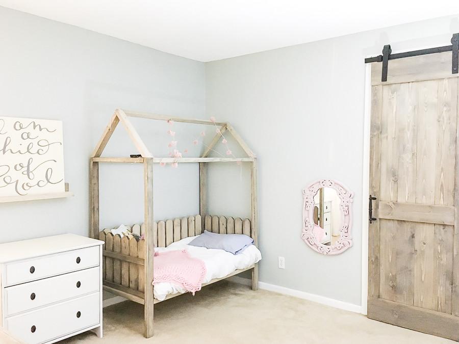 DIY Toddler House Bed  DIY Toddler House Bed