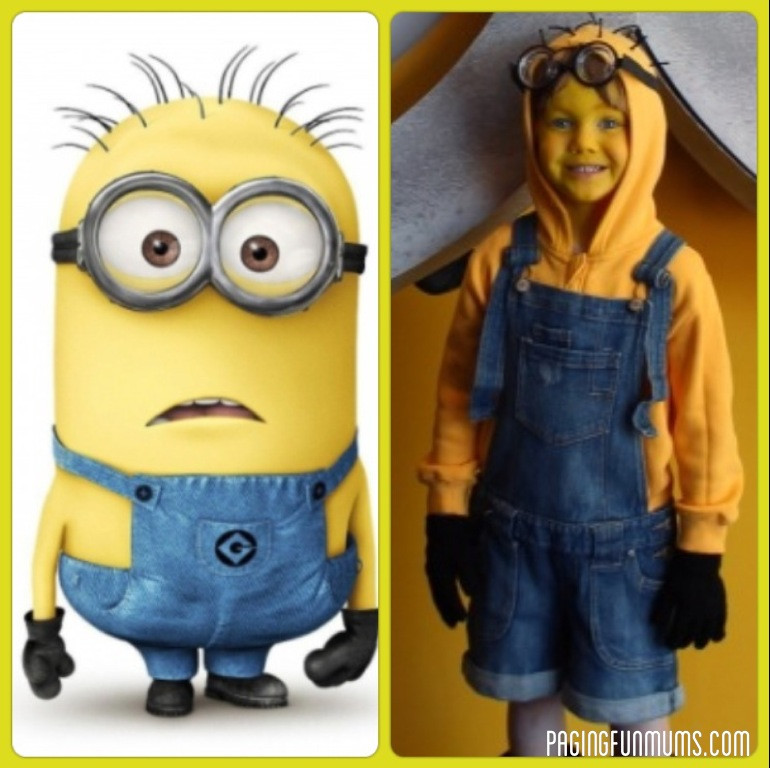 DIY Toddler Minion Costume  Easy DIY Despicable Me Minion Costume