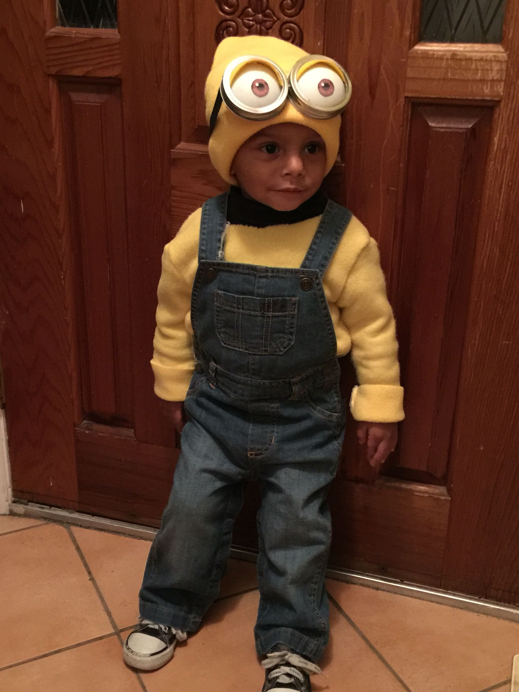 DIY Toddler Minion Costume  Toddler Minion costume