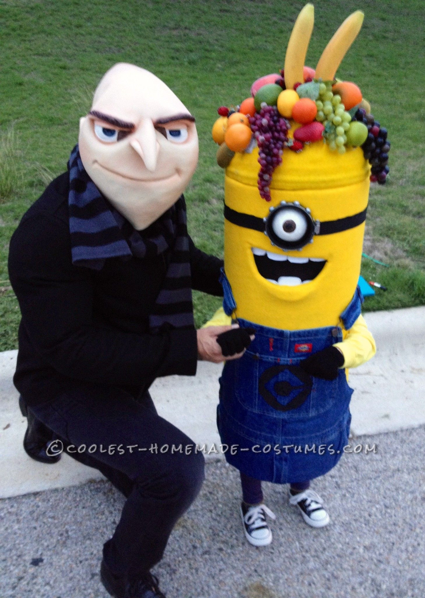 DIY Toddler Minion Costume  Coolest Carl the Minion Costume for a Toddler