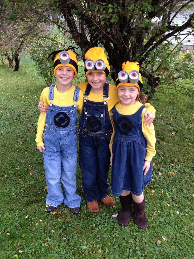 DIY Toddler Minion Costume  Homemade Minion Costumes Halloween Costumes Homemade
