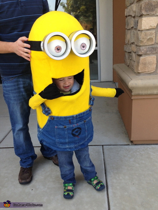DIY Toddler Minion Costume  DIY Minion Baby Costume 5 5