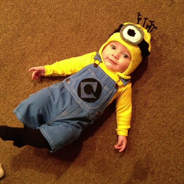 DIY Toddler Minion Costume  Halloween Costume Ideas for Kids I Unique Halloween