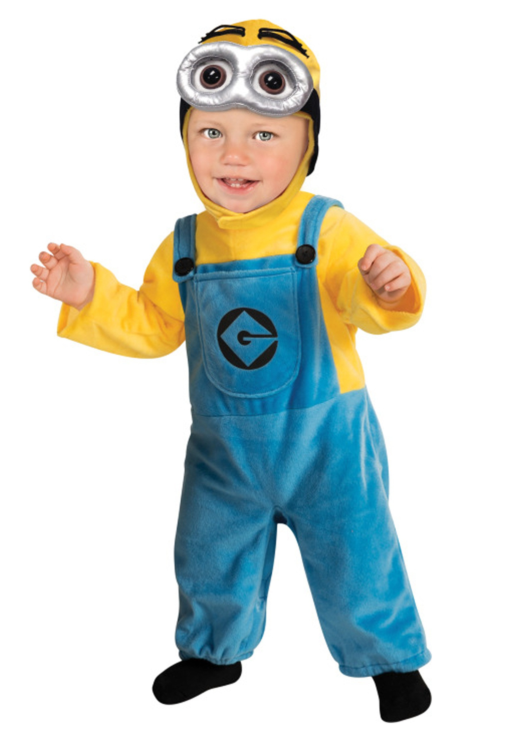 DIY Toddler Minion Costume  Minion Toddler Costume