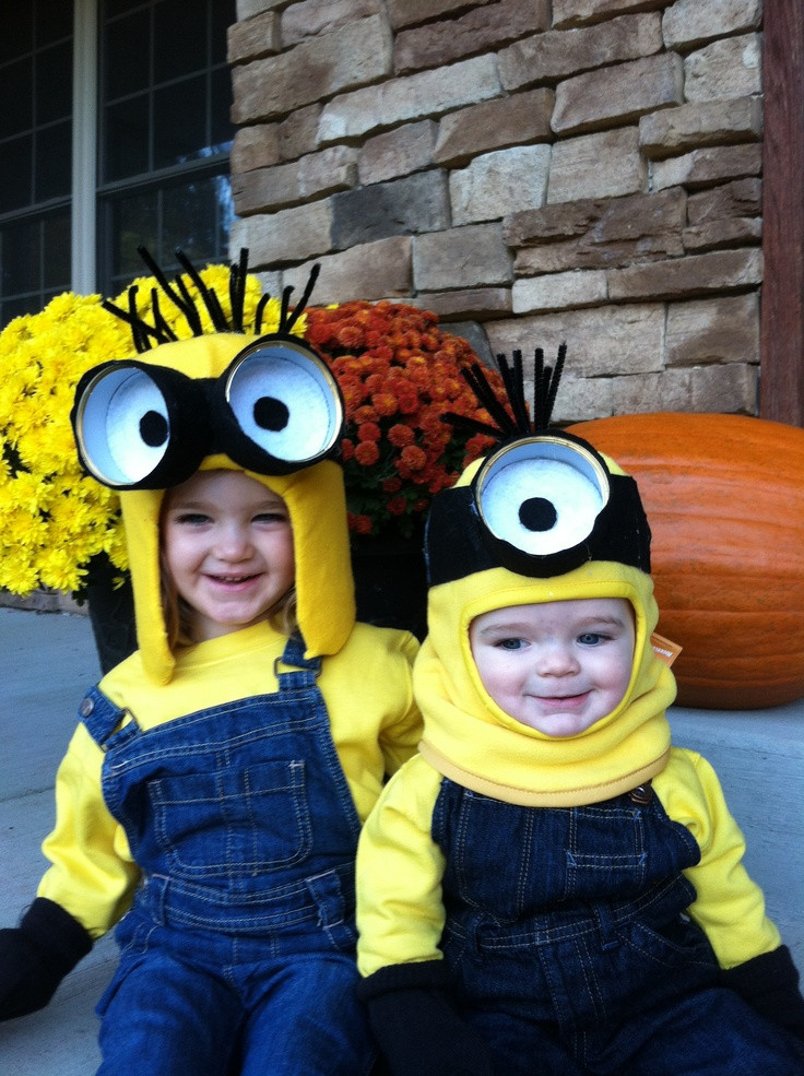DIY Toddler Minion Costume  DIY Kids Halloween costumes