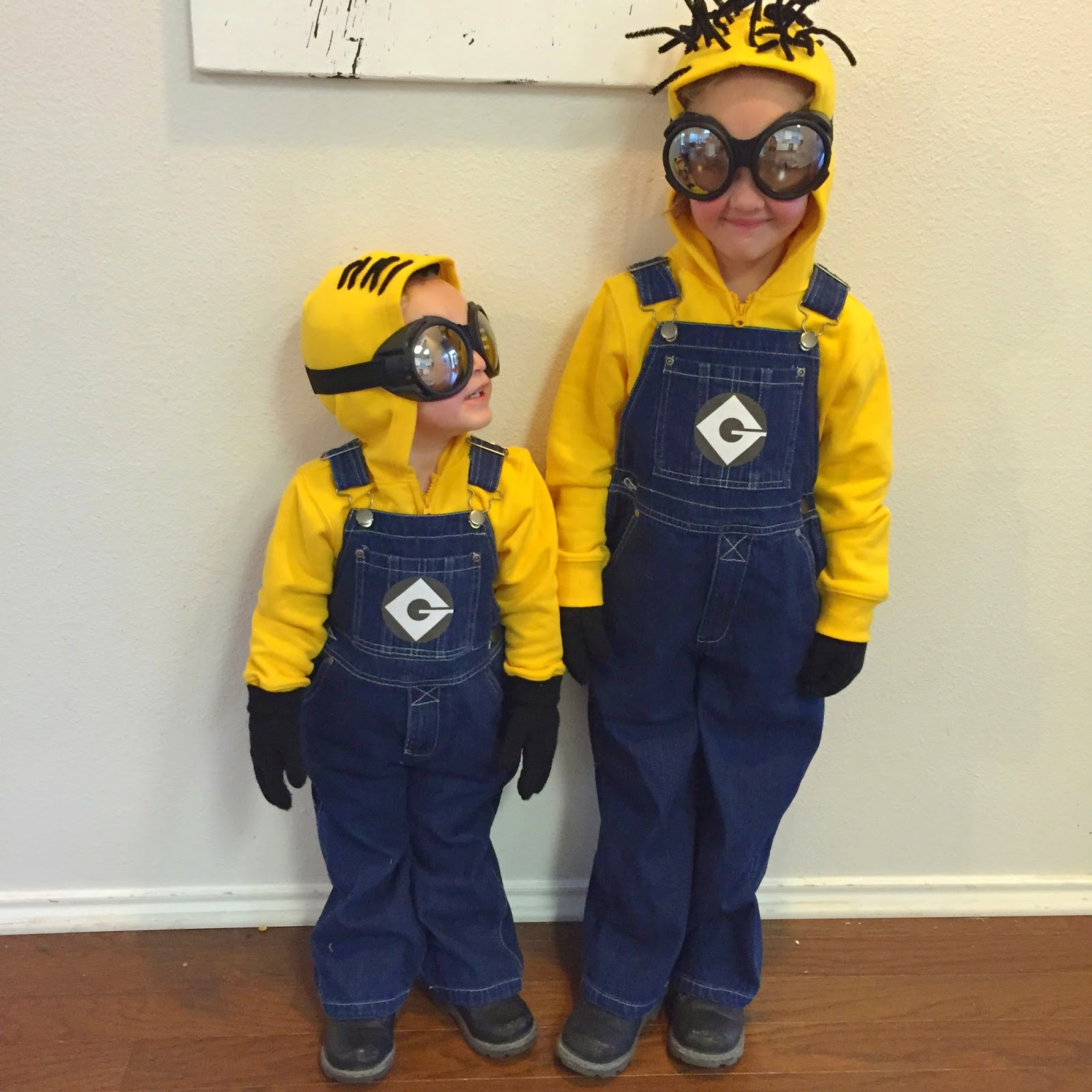 DIY Toddler Minion Costume  4 DIY Halloween Kid s Costume Ideas For Crafty Frugal