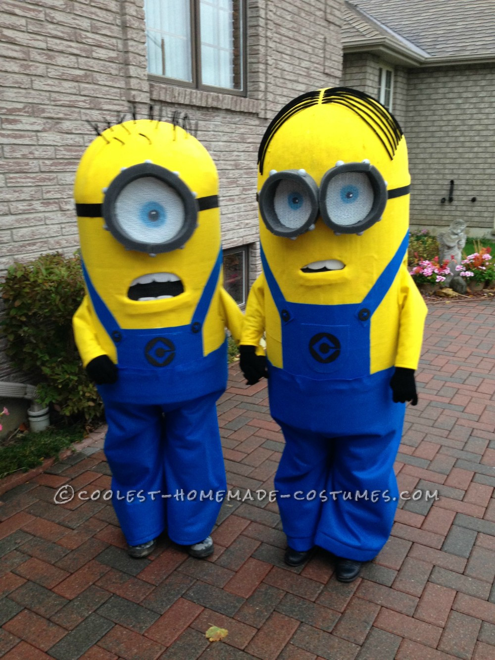DIY Toddler Minion Costume  Homemade Kids Minion Costumes
