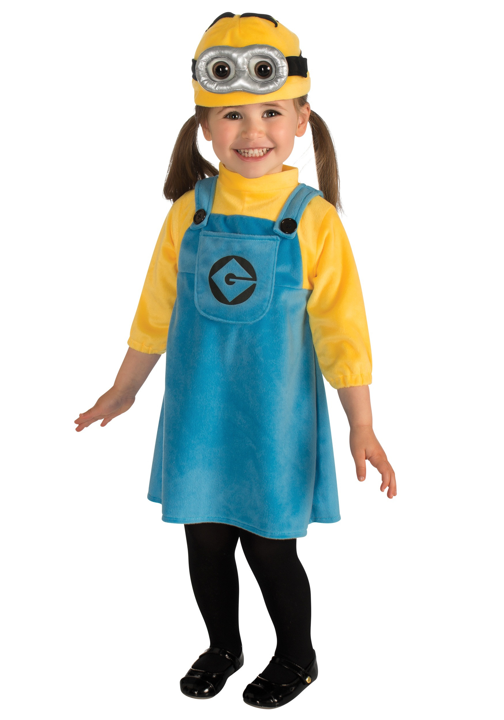 DIY Toddler Minion Costume  Toddler Girls Minion Costume