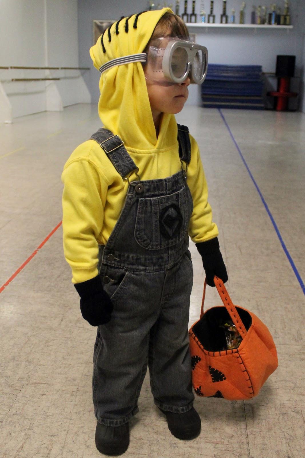 DIY Toddler Minion Costume  Minion Costume A Jennuine Life
