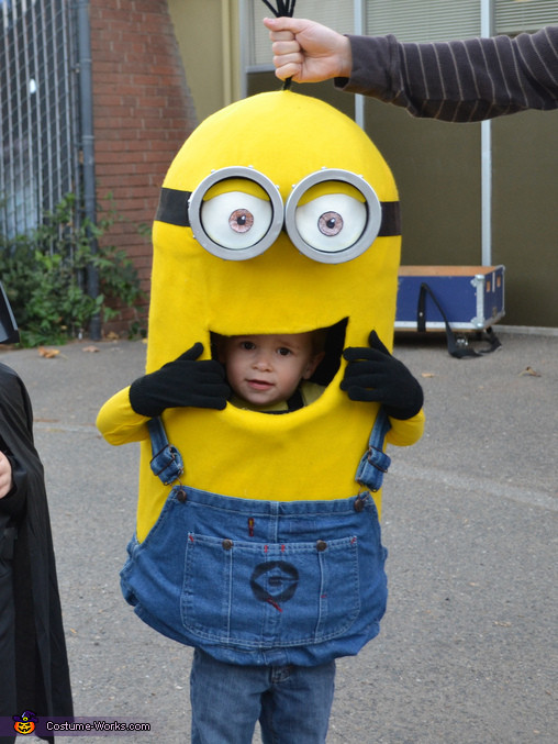 DIY Toddler Minion Costume  DIY Minion Baby Costume