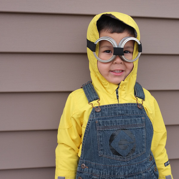 DIY Toddler Minion Costume  DIY Halloween Costumes Minion and Peter Pan s Shadow
