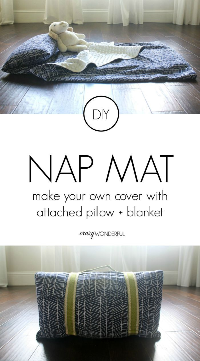 DIY Toddler Nap Mat  DIY nap mat cover