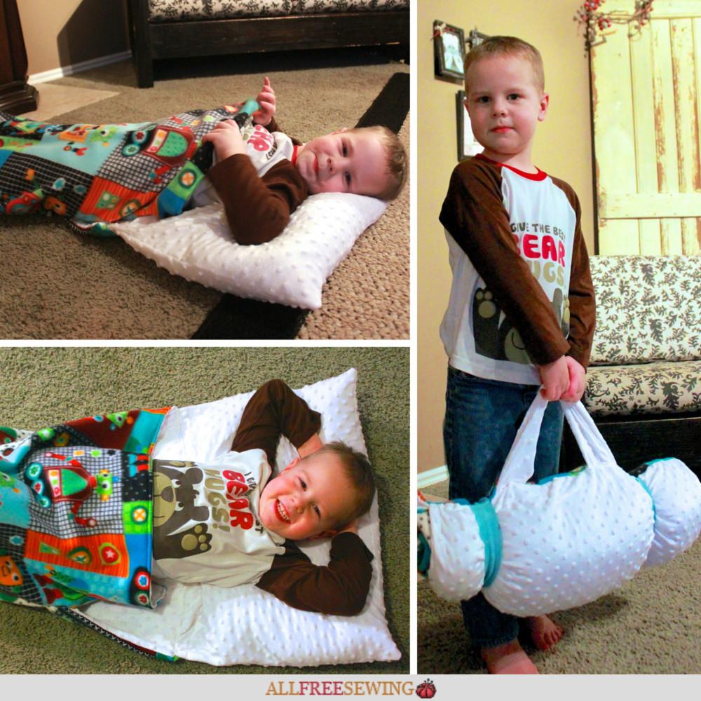 DIY Toddler Nap Mat  DIY Nap Mat with Pillow for Kids With images