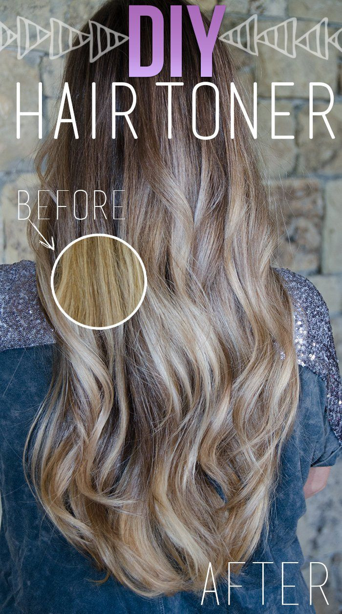 DIY Toner Hair  How To Get Rid of Brassy Hair 7 Easy Ways and Tips