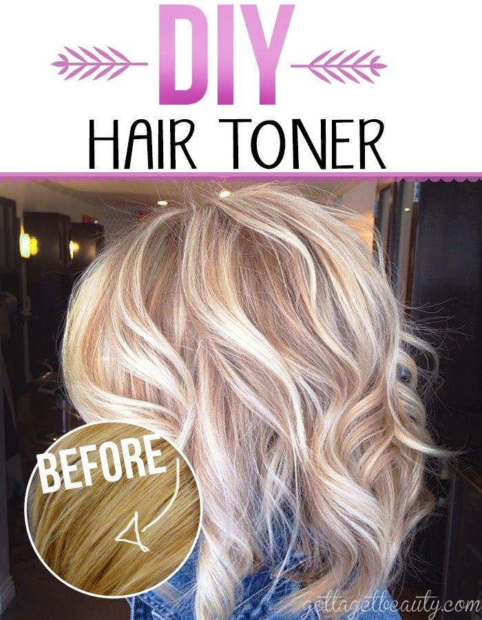 DIY Toner Hair  DIY Hair Toner for Gorgeous Color Gotta beauty