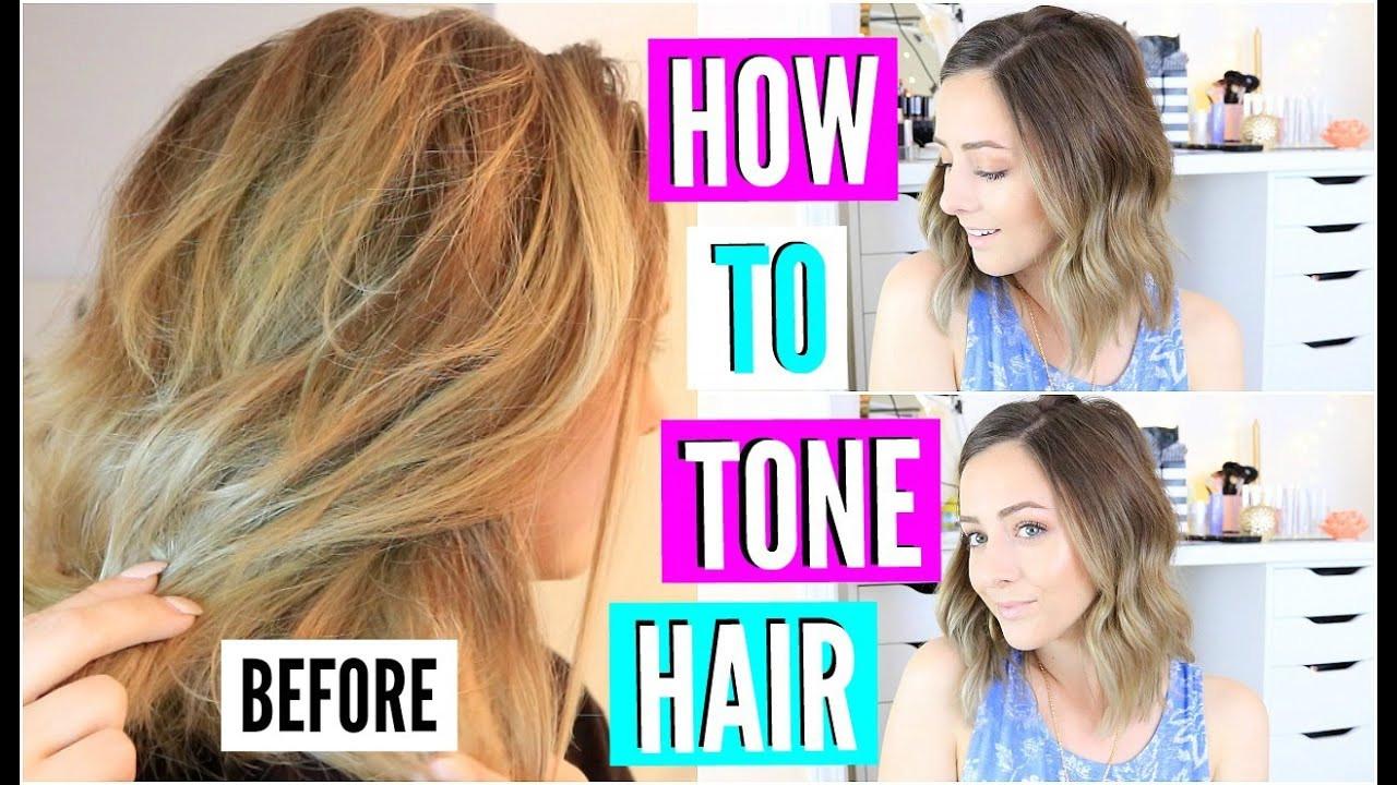 DIY Toner Hair  DIY Hair Toner For Brassy Blonde Hair