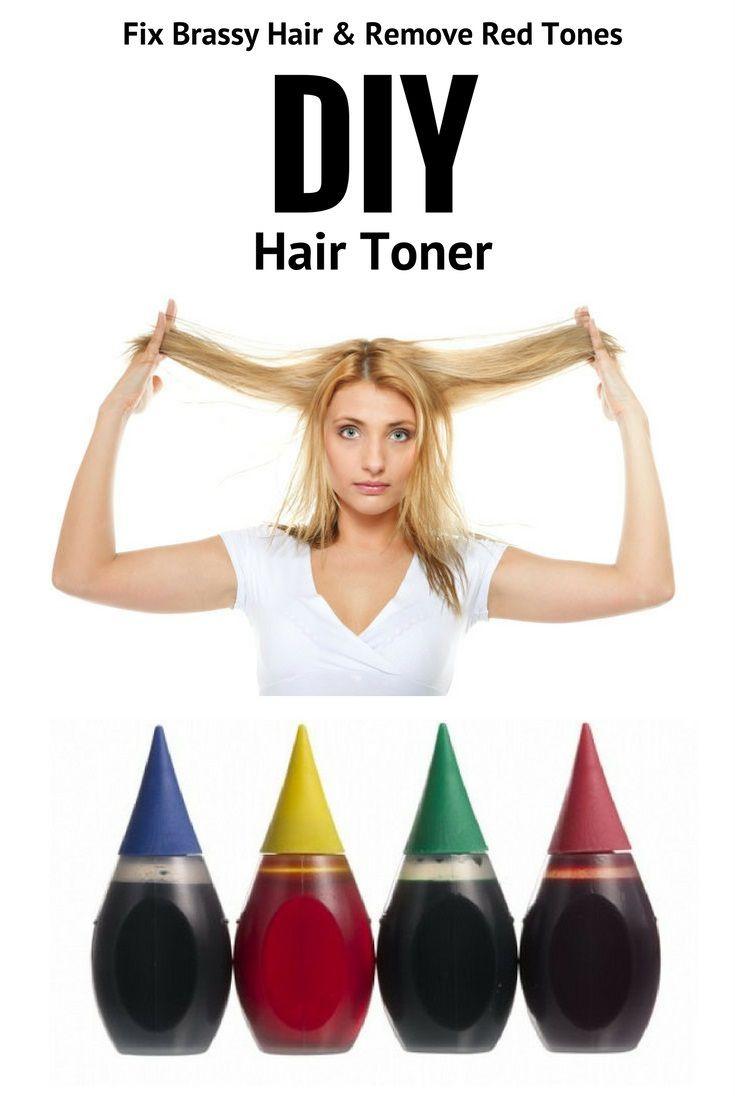 DIY Toner Hair  DIY Hair Toner Fix Brassy Hair with Food Coloring