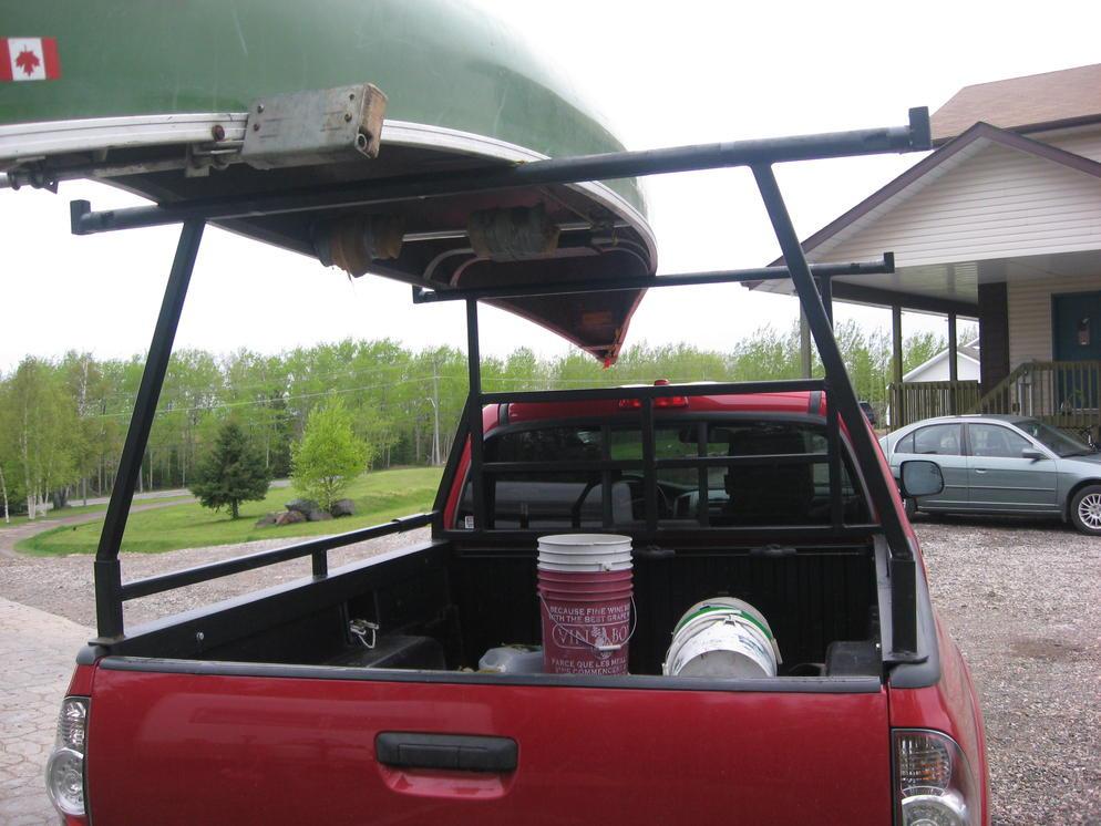DIY Truck Canoe Rack  Flow North Paddling pany Blog Archive Canoe