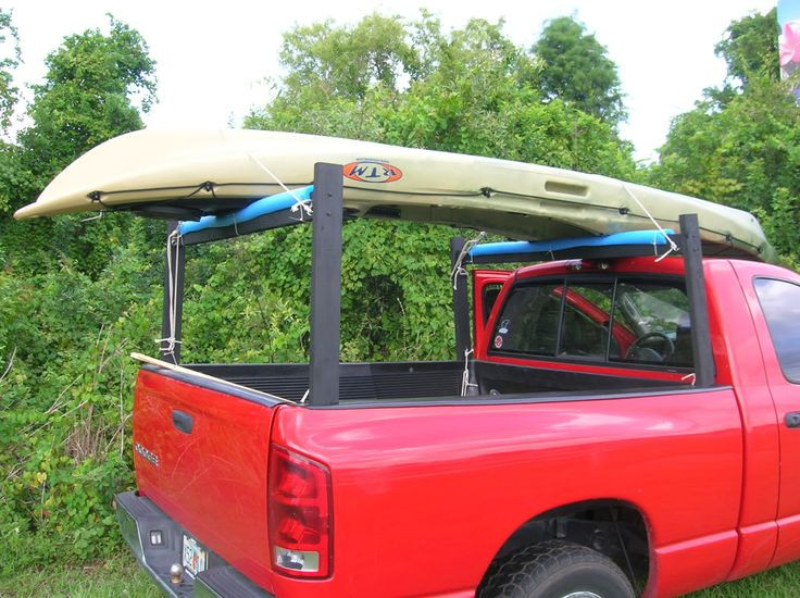 DIY Truck Canoe Rack  Topic How to build a canoe rack for a pickup truck