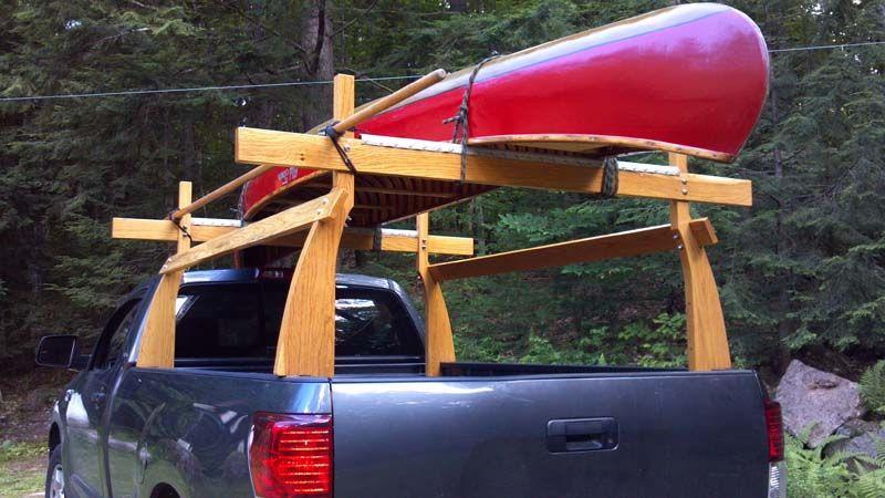 DIY Truck Canoe Rack  View topic of your DIY truck rack