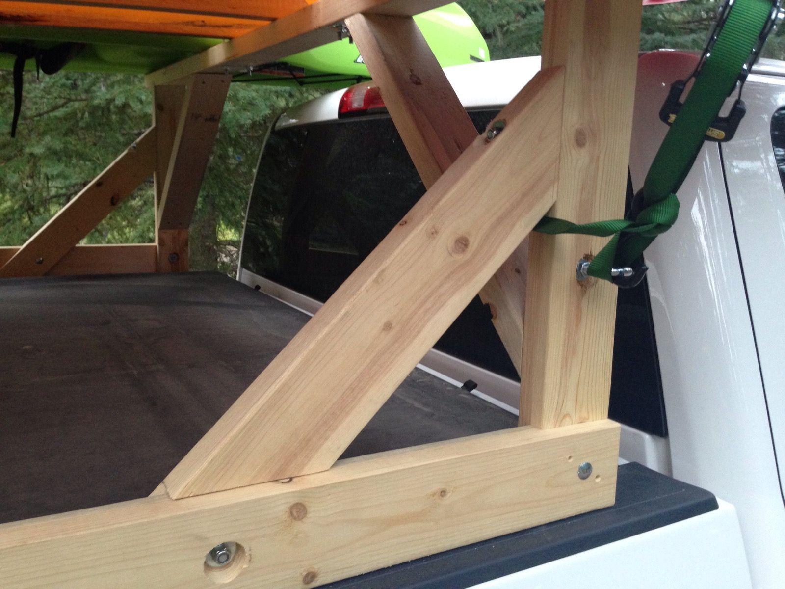 DIY Truck Canoe Rack  DIY truck rack part 2