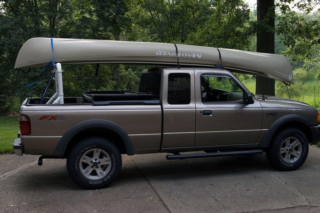 DIY Truck Canoe Rack  DIY Truck Rack With images