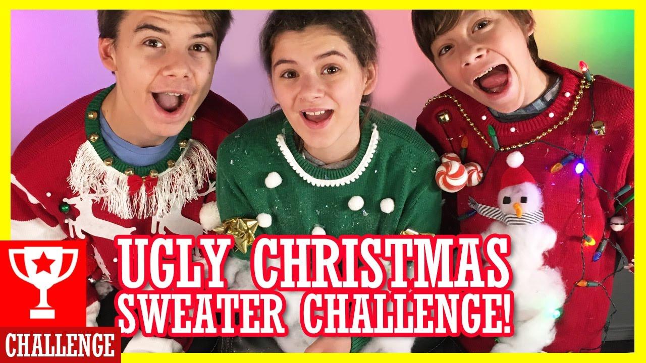 DIY Ugly Sweater Kit  DIY UGLY CHRISTMAS SWEATER KIT CHALLENGE