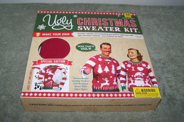 DIY Ugly Sweater Kit  DIY Ugly Christmas Sweater Kit Make Your Own Ugly Sweater