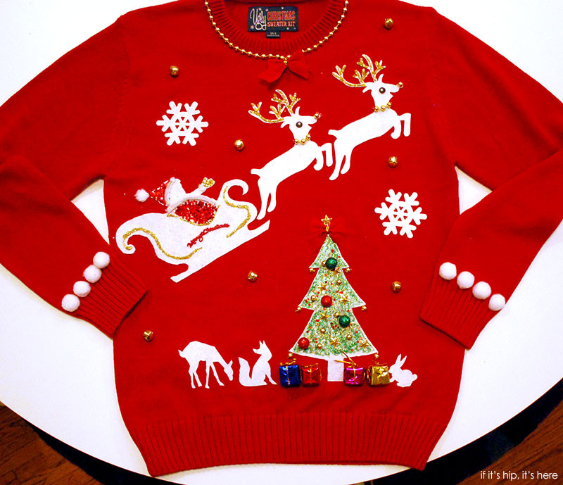 DIY Ugly Sweater Kit  The Ugly Christmas Sweater Kit is the Ultimate DIY Project