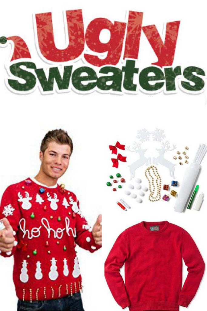 DIY Ugly Sweater Kit  DIY Men's Ugly Christmas Sweater Kit