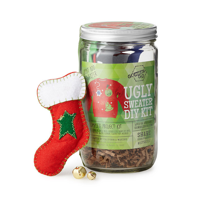 DIY Ugly Sweater Kit  Lady Clever's 2016 Must Haves Holiday Gift Guide