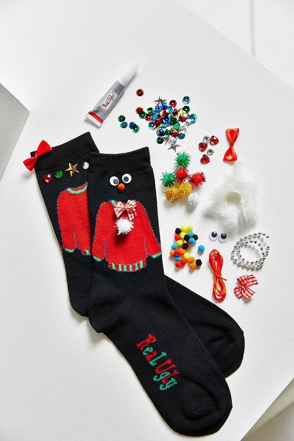 DIY Ugly Sweater Kit  DIY Ugly Sweater Sock Kit