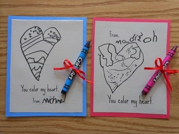 DIY Valentines Cards Kids  30 DIY Valentine s Day Ideas for Kids
