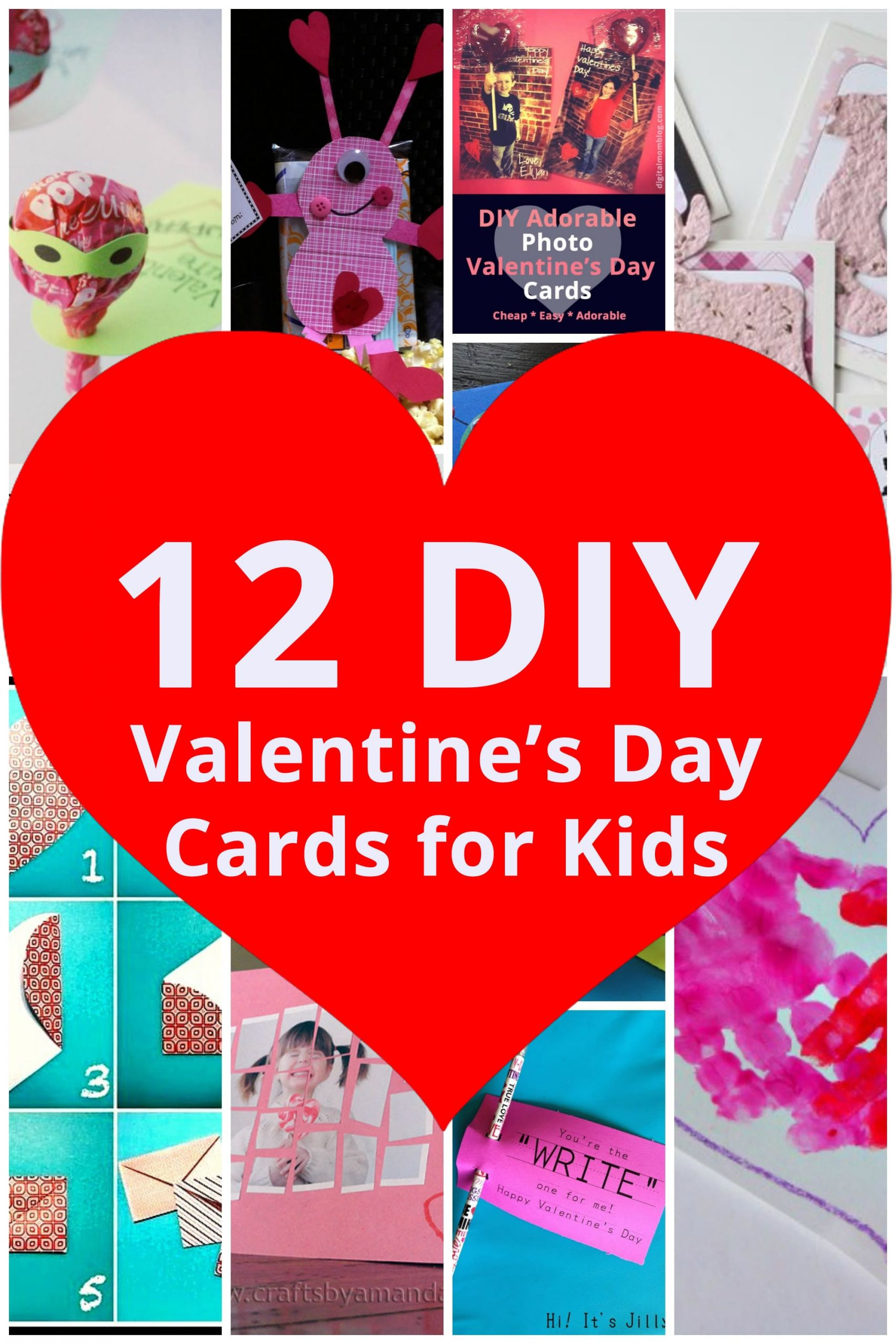 DIY Valentines Cards Kids  DIY Valentine s Day Cards for Kids