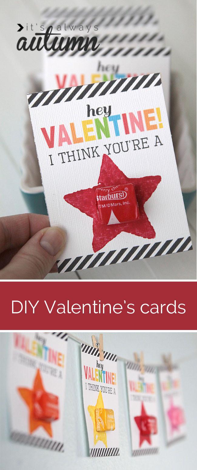 DIY Valentines Cards Kids  40 Simple Fun Valentine s Day Craft Ideas Just for Kids