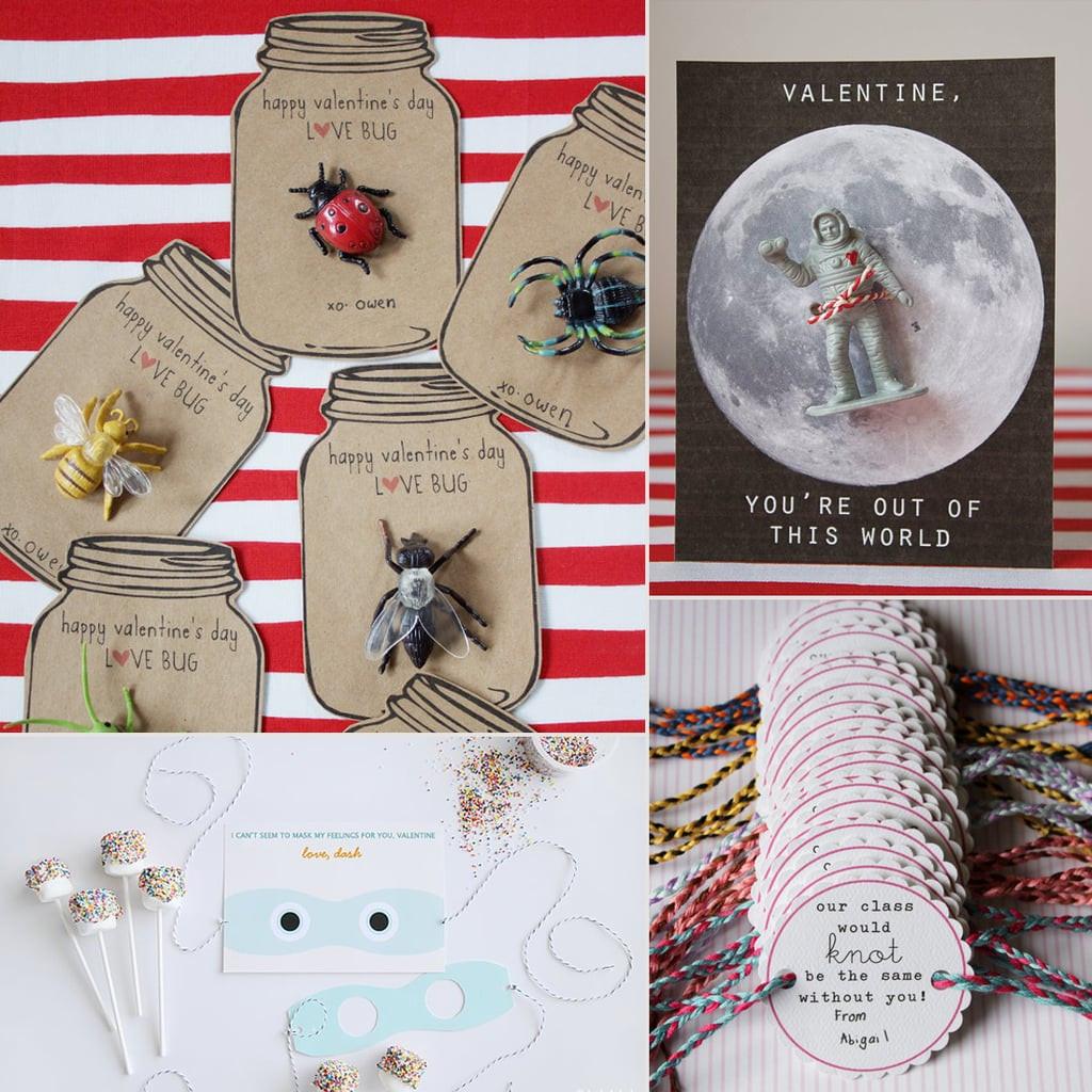 DIY Valentines Cards Kids  DIY Noncandy Printable Valentine s Day Cards For Kids