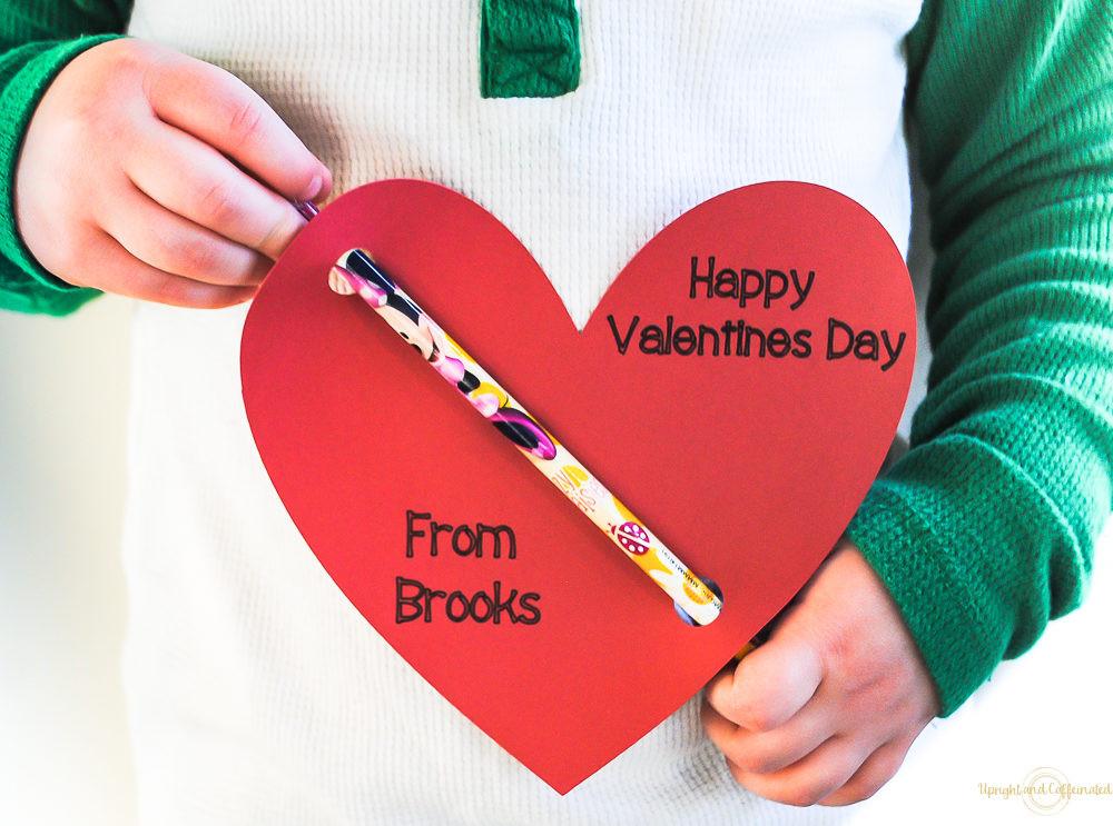 DIY Valentines Cards Kids  DIY Valentines Cards Upright and Caffeinated