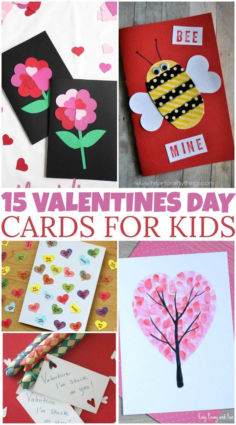DIY Valentines Cards Kids  15 DIY Valentine's Day Cards For Kids – British Columbia Mom