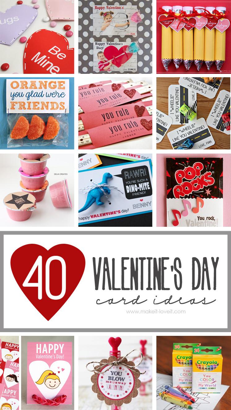 DIY Valentines Cards Kids  40 DIY Valentine s Day Card Ideas for kids