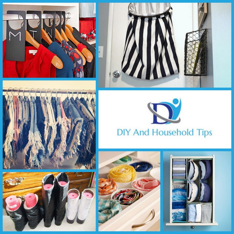 DIY Ways To Organize Your Closet  DIY And Household Tips 20 Genius Ways To Organize Your